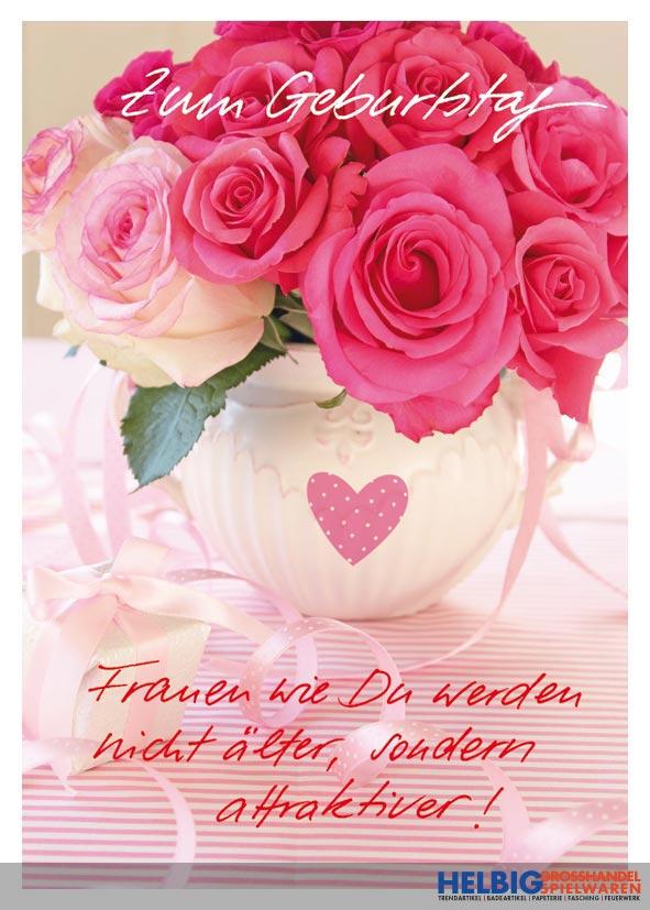 Gluckwunschkarte Geburtstag Frauen Wie Du 01042