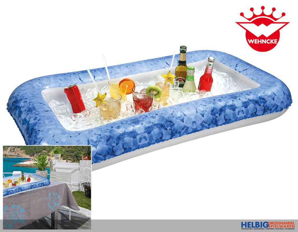"aufblasbare ""pool- & eis-bar"" - 110 x 60 cm-18200"