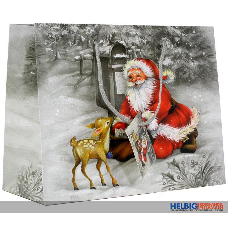 Weihnachten Nostalgisch.Geschenktüte Kl Nostalgie Weihnachten Sort 228868