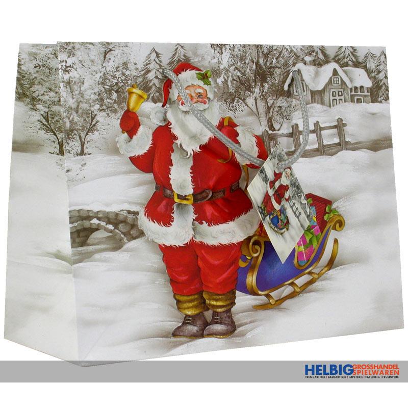 Bilder Weihnachten Nostalgisch.Geschenktüte Kl Nostalgie Weihnachten Sort 228868