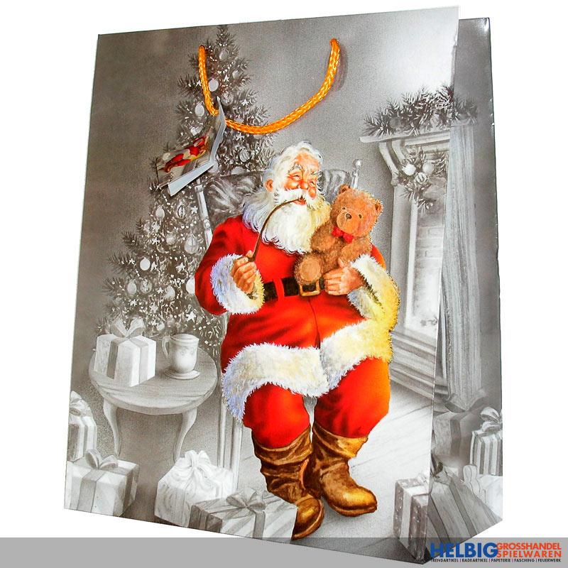 Weihnachten Nostalgisch.Geschenktüte Gr Nostalgie Weihnachten Sort 228870