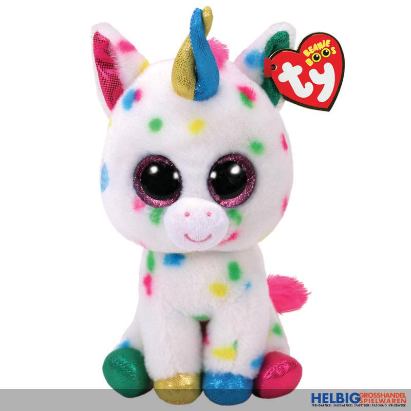 Glubschi S Beanie Boo S Einhorn Unicorn Harmonie 15 Cm 36898