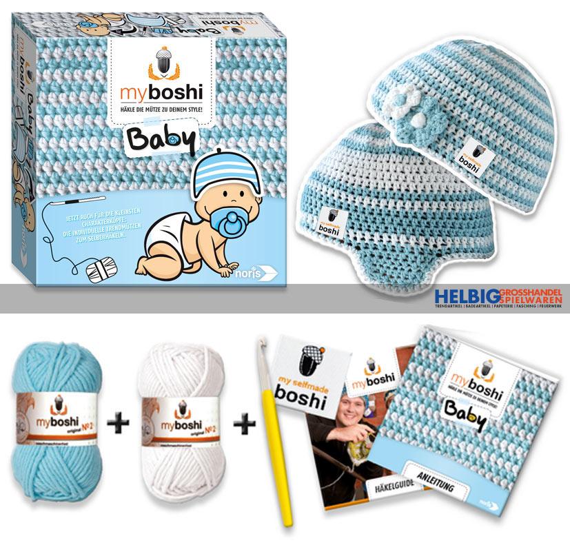 Kreativ Häkel Set My Boshi Baby Blau 606311255