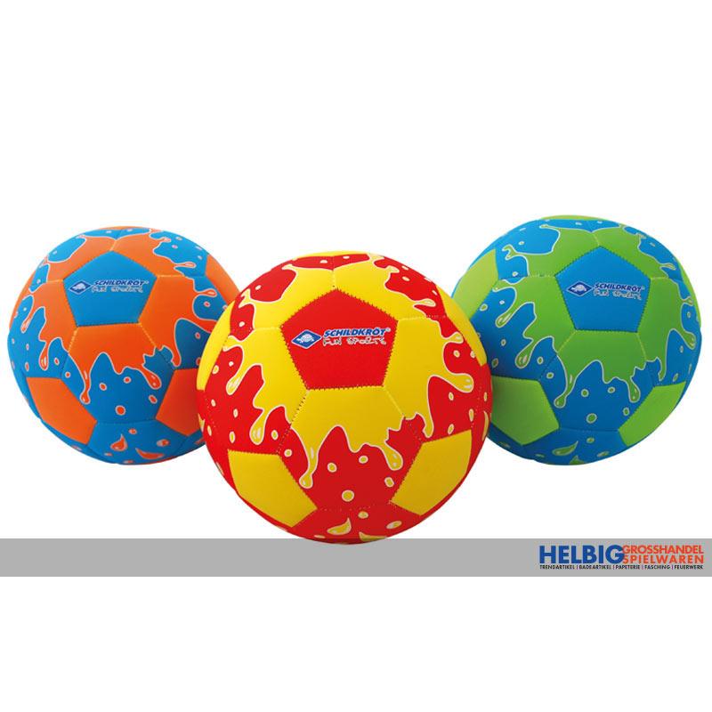 22cm Durchmesser aus PVC Fußball aufblasbar ca Kinderbadespaß
