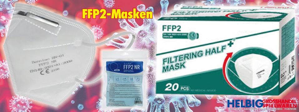 FFP2 Masken - Corona-Virus-Schutz - Covid-19