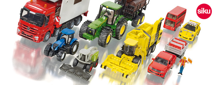 Siku Spielzeugmodelle