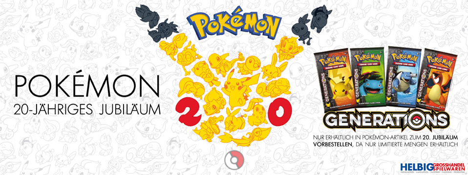 20 Jahre Pokemon - 20th Pokémon Anniversary