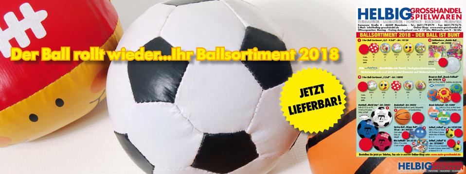 Ball-Sortiment 2018