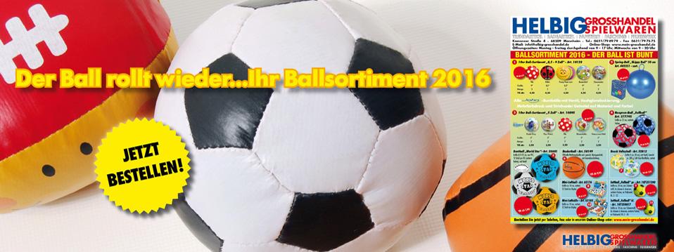 Ballsortiment 2016