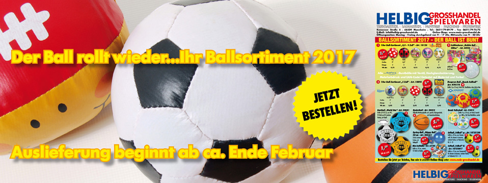 Ball-Sortiment 2017