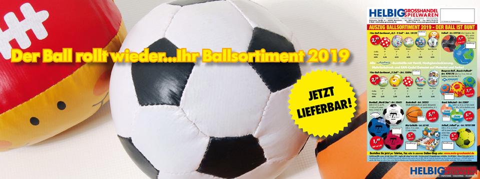 Ball-Sortiment 2019