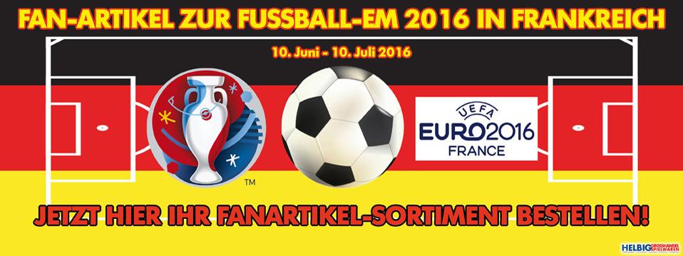 Fan-Artikel Deutschland Fußball EM 2016 Frankreich