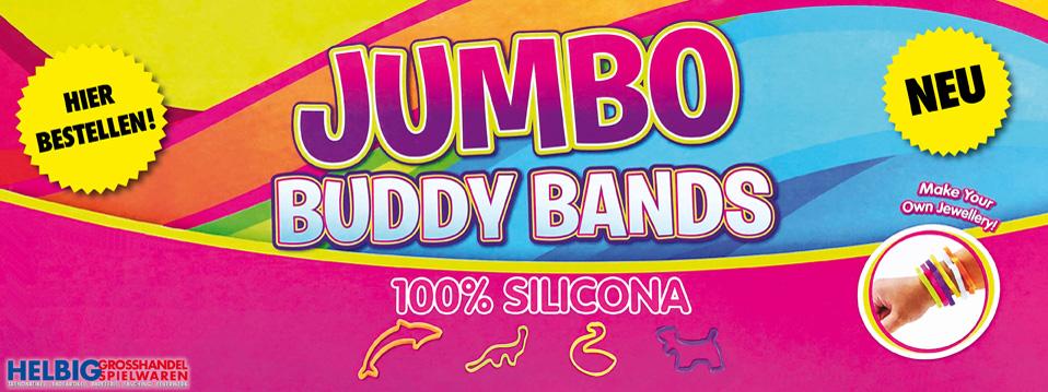Teaser - Silikon-Armband Jumbo Buddy Bands Bauernhoftiere Dinosaurier Bauernhof