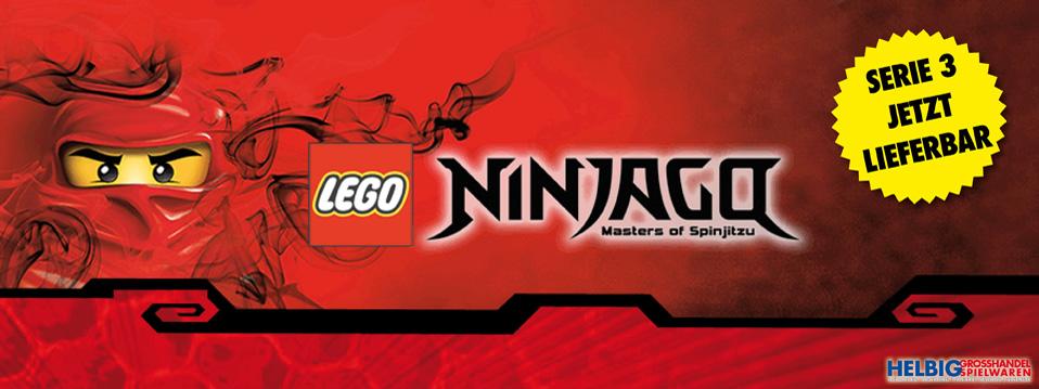 Lego Ninjago Serie 3 - Sammelkartenspiel