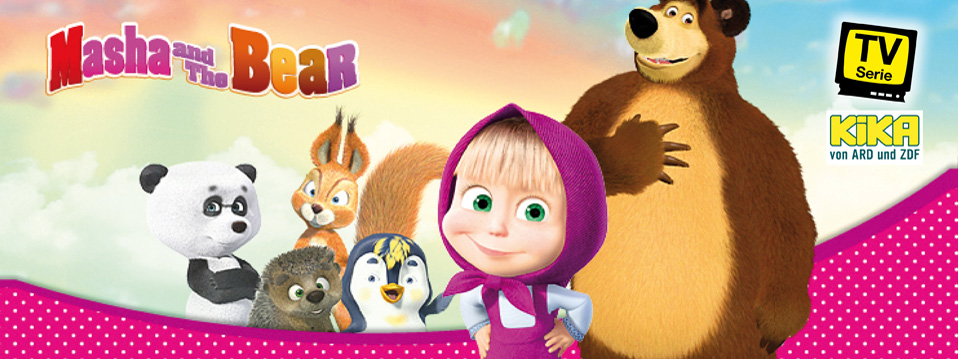 Mascha und der Bär - Masha and the Bear