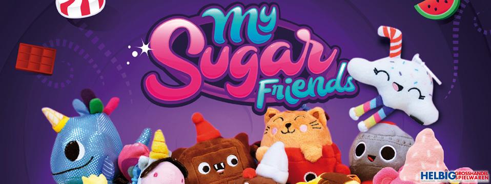 """Plüsch-Tiere mit Duft """"My Sugar Friends"""""""