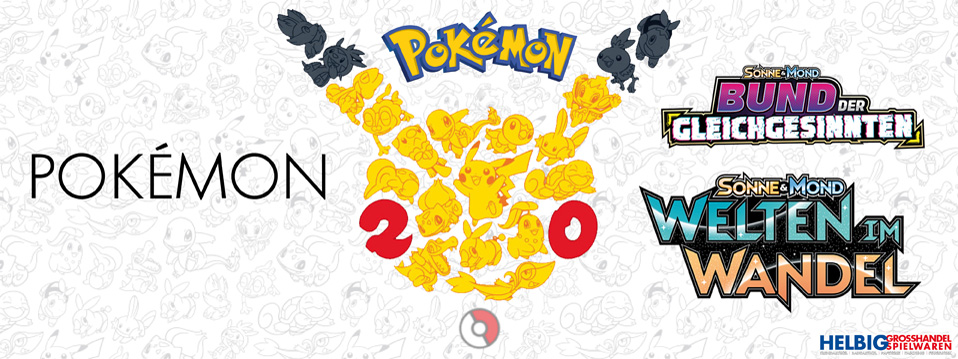 Pokemon-Pokémon 2019 - Bund der Gleichgesinnten - Welten im Wandel