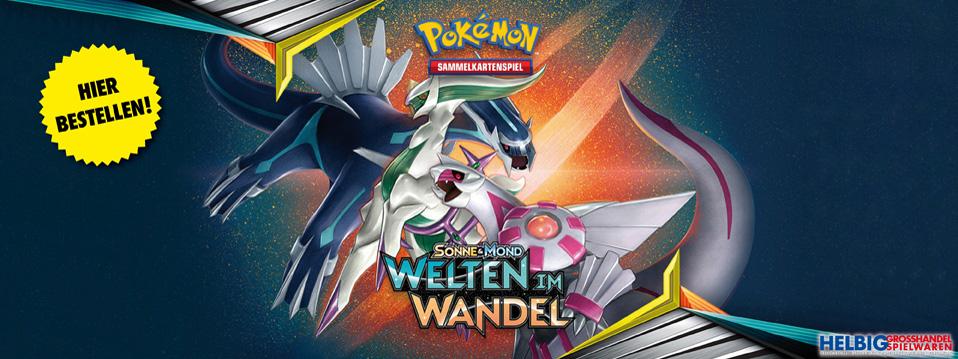 Pokémon Sortiment - Welten im Wandel und mehr!