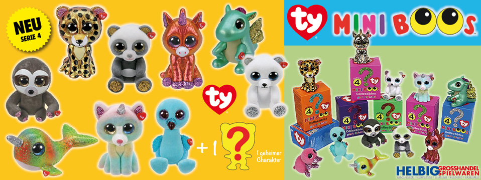 Ty Mini Boos - Series 4