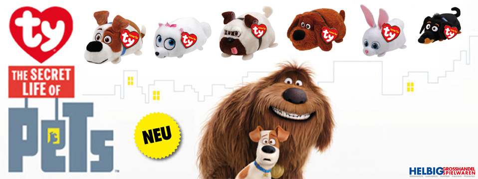Teaser_Ty Secret Life of Pets Plüsch-Plush