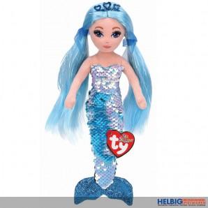 "Ty Flippables - Meerjungfrau ""Sea Sequins - Indigo"" - 25 cm"