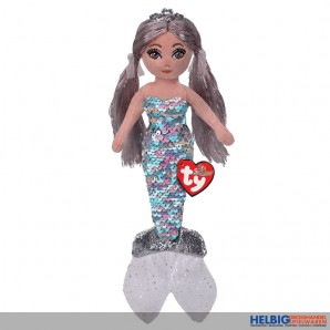 "Ty Flippables - Meerjungfrau Athena ""Sequins platin"" 25 cm"