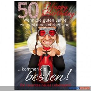 Zum 50 Geburtstag Gratulieren