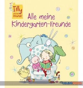 """Kindergarten-Freundebuch """"Tilly und ihre Freunde"""""""
