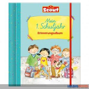 """Scout - Erinnerungsalbum """"Mein 1. Schuljahr"""""""
