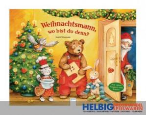 """Lesebuch """"Weihnachtsmann, wo bist du denn"""""""