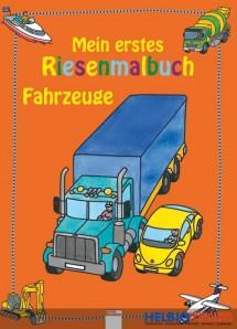 """Mein erstes Riesenmalbuch """"Fahrzeuge"""""""