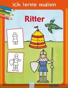 """Malbuch - Ich lerne malen """"Ritter"""""""
