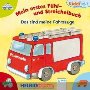 Kiddilight Fühl- & Streichelbuch - D.s.meine Fahrzeuge