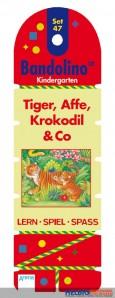 Bandolino Kindergarten Set 47 - Tiger, Affe, Krokodil und Co