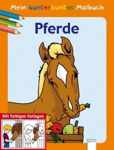 "Mein kunterbuntes Malbuch ""Pferde"""