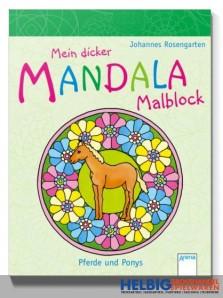 "Malblock ""Mein dicker Mandala Malblock - Pferde und Ponys"""