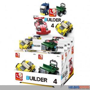 "Steckbausteine-Sortiment ""Fahrzeuge / Builder 4"" sort."