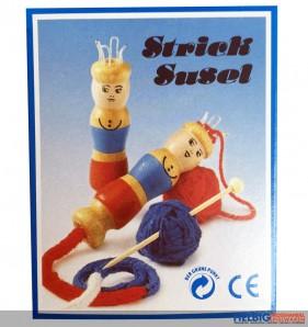 Strick-Susel/Liesel Set aus Holz