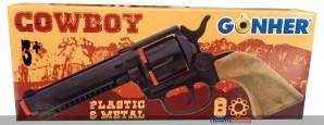 """Spielzeug-Pistole """"Cowboy"""" - 8er Schuss"""