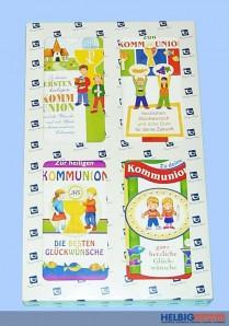 """Glückwunschkarten """"Kommunion"""" - 100er Sortiment"""