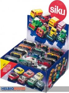 Siku Serie 16 - Automodelle im Sortiment