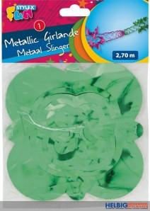 Metallic-Girlande - 2,70 m