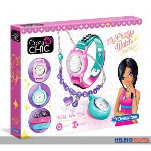 """Fashion-Set """"Crazy Chic - Crazy Watch/Uhr"""""""
