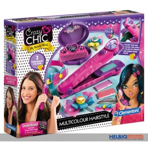 "Kreativ-Spielset ""Crazy Chic - Multicolour Hairstyle"""