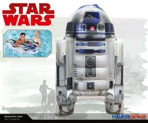 """Star Wars - Luftmatratze """"Droide: R2-D2"""" 116 cm"""