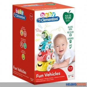 """Baby-Aktivitätsfahrzeuge """"Hide & Stack/Verstecken & Stapeln"""""""
