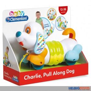 """Baby-Nachziehtier """"Hund Charlie"""" mit Sound & Bewegung"""