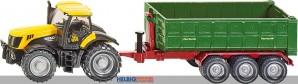 Siku 1855 - JCB-Traktor mit Hakenliftmulde