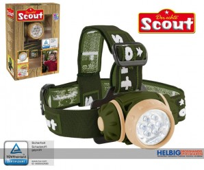 "Scout - LED-Stirnlampe ""Outdoor"""