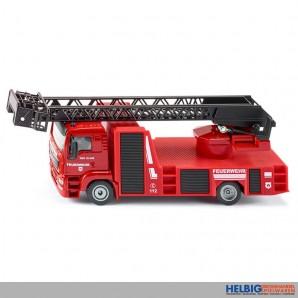 Siku 2114 - Feuerwehr-Auto MAN mit Drehleiter